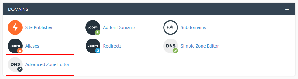 Adding A Records in DNS for Private Nameservers